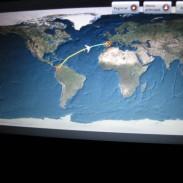 A travez del Atlántico