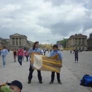 Bandera Escocesa en Versalles
