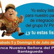 Paseo de Integración Grupo IV Pirsas, 5 y 6 de Julio de 2014