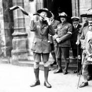 Baden-Powell tocando el Koodo