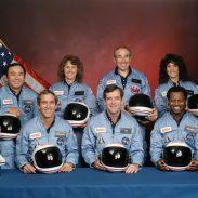 Cuatro de los siete  Astronautas que murieron en la explosión del Challenger eran Scouts